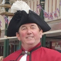 Public Speaker and Town Crier in County Durham Peter Stemmer presents his lihjt hearted talk Don't Shoot the Messenger.