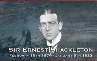 Public Speaker in Staffordshire presents his talk The Adventures of Ernest Shackleton.
